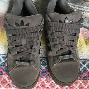 Adidas Gray & Black shoes